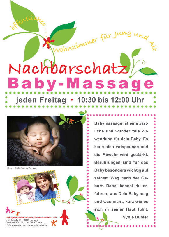 Nachbarschatz e.V. Baby-Massage